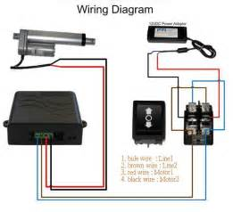 Linear 109207 power supply with wiring harness wiring diagram