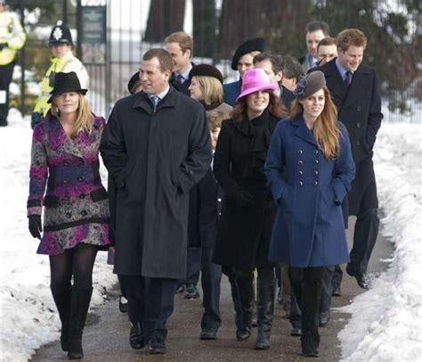 imagenes de la familia real de inglaterra la familia real inglesa asiste a la tradicional misa del
