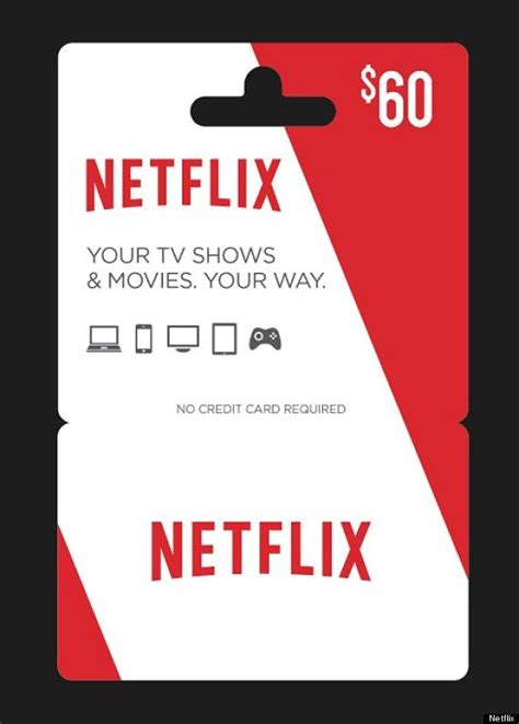 Netflix Gift Cards Online - netflix is going to start selling gift cards in stores huffpost