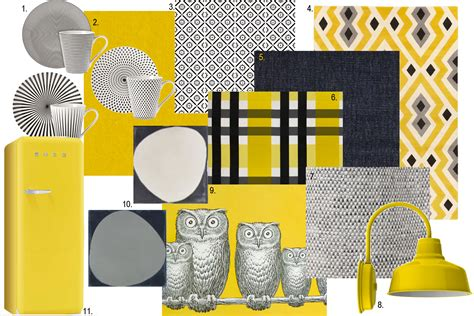 yellow mood graphic moodboard linas neue wohnung pinterest graphics