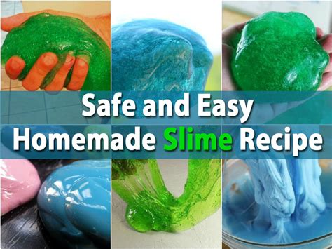 will this safe and easy slime recipe diy crafts