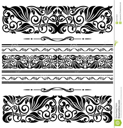 design patterns decorator pattern collections decorative ornaments and patterns stock images image