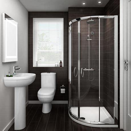 Shower Bathroom Suites Sale Ivo Suite And Shower Quadrant En Suite Set 2 Size Options