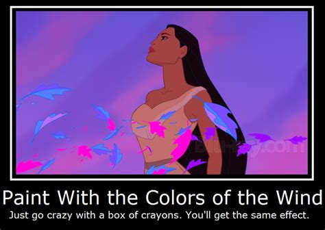 pocahontas paint with the colors of the wind by masterof4elements on deviantart
