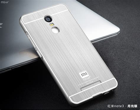 Termurah Xiaomi Redmi Note 4 Original Casing Luxury Leather Armor original msvii brand xiaomi redmi note 3 note3