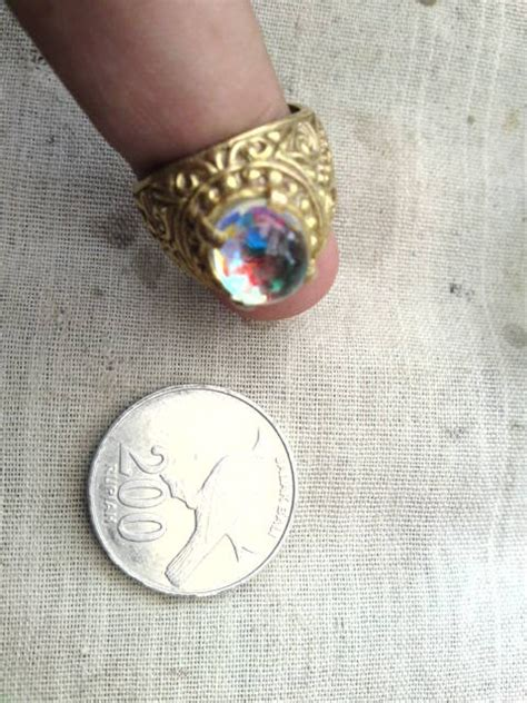 Kalimaya Kuning Meksiko 2 5ct mustika koleksi pribadi kalimaya opal mexico