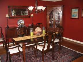 Red Dining Rooms by Dining Room With Red Walls Diningroomstyle Com