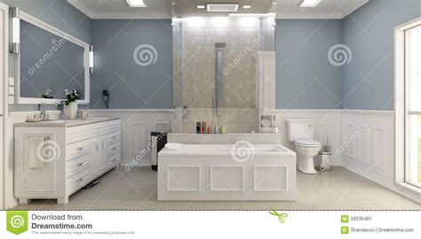 modern classic bathroom modern classic bathroom with wc stock image image 59236481