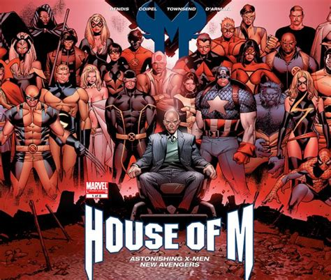 House Of M by House Of M 2005 1 Variant Comics Marvel