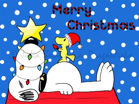 snoopy christmas images card snoopy by dragonneko on deviantart