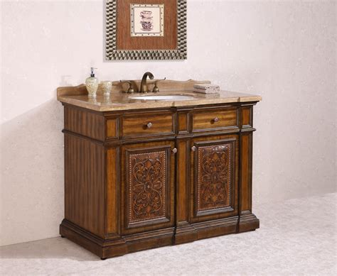 sink 48 inch bathroom vanity 48 inch single sink bathroom vanity in light walnut
