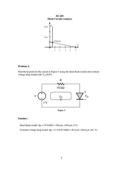 diode circuit analysis diode circuits analysis