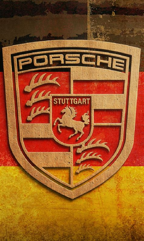 porsche logo wallpaper for mobile free porsche logo mobile mobile phone wallpaper