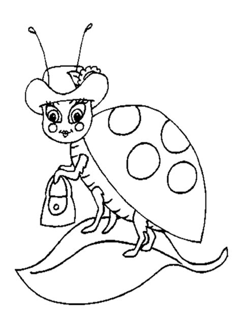ladybug coloring pages getcoloringpagescom