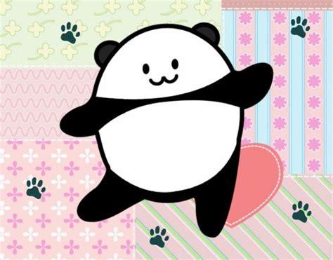 imagenes de osito kawaii dibujo de osito panda kawaii pintado por en dibujos net el