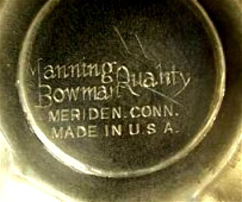 American Silverplate Marks Marks And Hallmarks Of Us