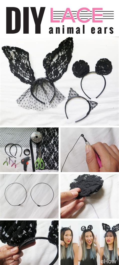 How To Make Cat Ears Headband Paper - best 25 diy cat ears ideas on cat headband