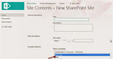 sharepoint tricks missing blank site template in