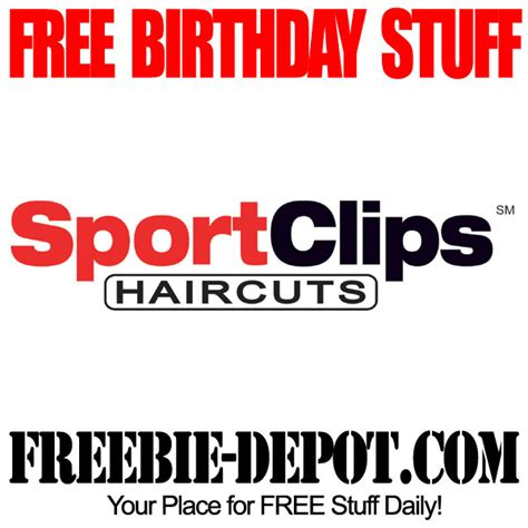 haircut coupons sport clips birthday freebie sport clips freebie depot