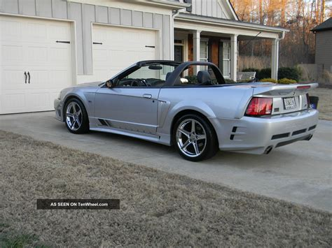 2003 saleen mustang extremely 2003 convertible supercharged saleen mustang