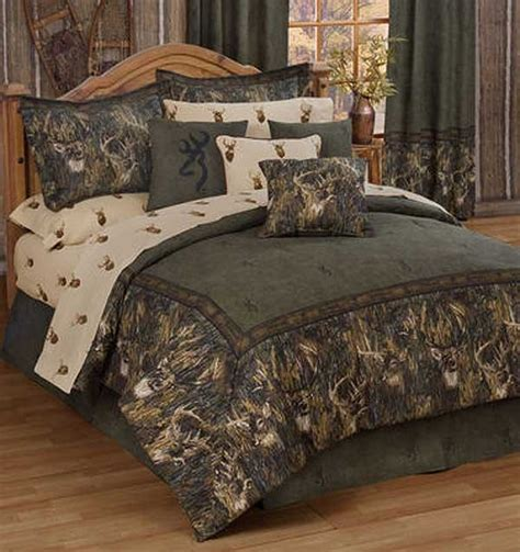 Browning Bed Sets by Browning Whitetails Comforter Set Size Cabin