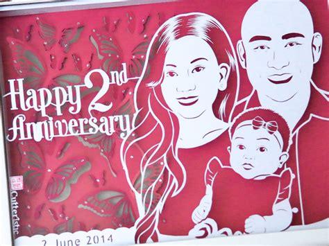 Scrapframe Kado Ulang Tahun Anniversary Pernikahan kado ulang tahun pernikahan cutteristic