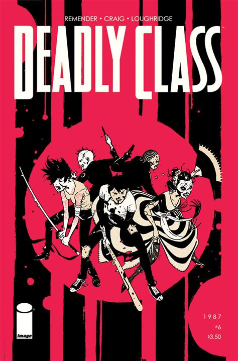 deadly class volume 6 books 5 skull review deadly class 6 bloody disgusting