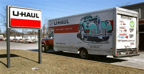 u haul of alvernon heights storage truck rentals and or leasing