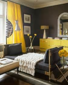 yellow paint for living room yellow gray living room design with charcoal gray walls paint color canary yellow silk
