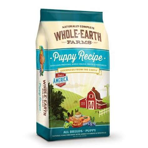 whole earth puppy food