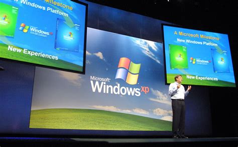 Windows Vista Launch Bill Gates Speech 4 The One Where We Find Out What It Actually Does by Windows Xp Is Dead Not Every Company Got The Memo Nbc News