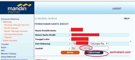 membuat kartu kredit bank mandiri online cara bayar kartu kredit mandiri via internet banking