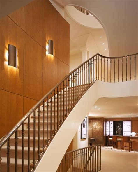 Staircase Wall Sconces modern lighting ideas that turn the staircase into a centerpiece