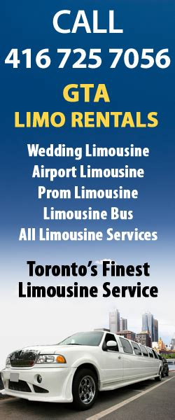 gta appartments gta limo rentals corporate limousine services in toronto