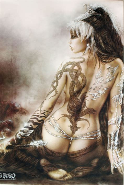 High Quality New Collection New My Sa poster tattooed luis royo 60 x 90 cm high quality poster new ebay
