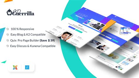 Top Most Popular Multipurpose Joomla Templates For 2018 Guerrilla Marketing Plan Template
