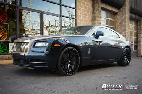 roll royce wraith on rims rolls royce wraith custom wheels forgiato drea cl 24x et