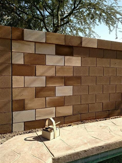 garden wall paint ideas best 25 cinder block walls ideas on cinder