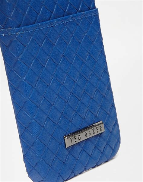 Iphone 5 5s Ted Baker P5tb 25 ted baker bassget iphone 5s with card slot in blue