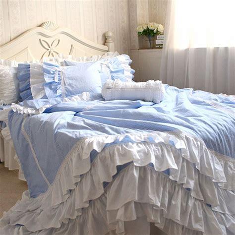 Blue Gingham Duvet Cover blue gingham set