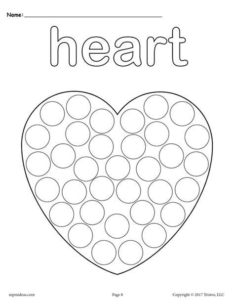12 free shapes do a dot printables