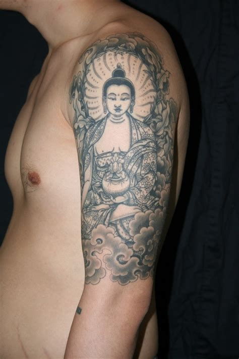 tattoo of buddha design buddhist tattoos designs ideas and meaning tattoos for you