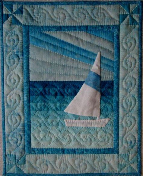 Sail Boat Quilt by 203 Best Images About Sailboat Quilts On Free Pattern Boats And Quilt