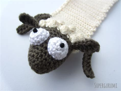 amigurumi sheep amigurumi crochet sheep bookmark quot book sheep quot supergurumi