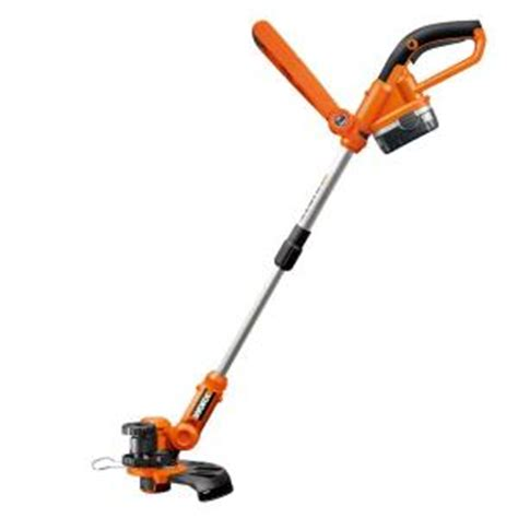 worx 10 in 18 volt ni cd shaft cordless grass trimmer