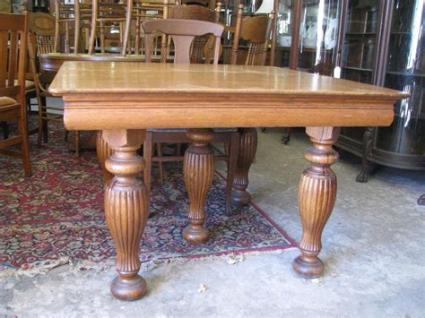 Antique Oak Dining Room Table Antique Oak Dining Room Tables