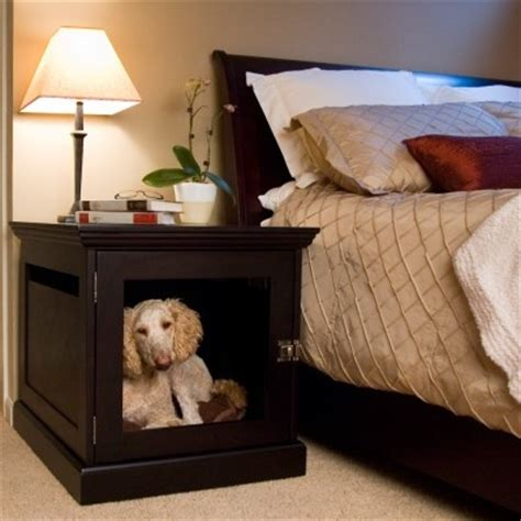dog bed nightstand night stand dog bed combo ideas pinterest