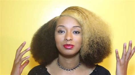 how to create a blowout without heat for natural hair