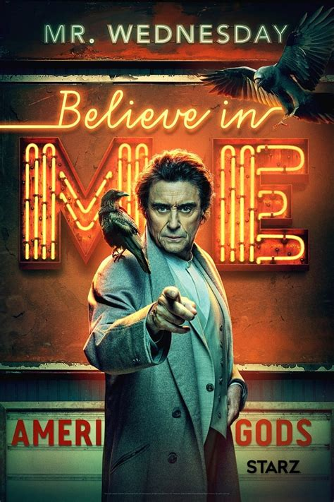 american gods season  character posters released