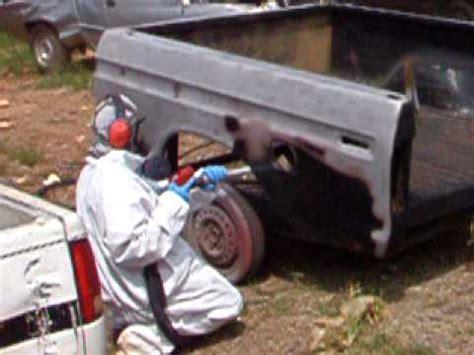 bead blaster prank soda blasting a truck bed funnydog tv